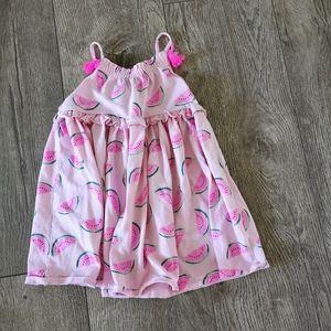 3/$12 George watermelon dress 12-18 M